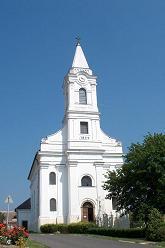 Aszófő temploma