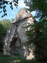 Aszófői templomrom